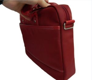 Soft Red Messenger Laptop Bag with Modern Design and High Quality pictures & photos