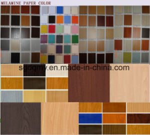 Solid Color Double Sided Melamine MDF with Best Quality pictures & photos