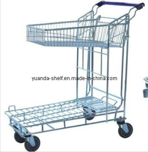 Flat Storage Warehouse Steel Trolley System (YD-F) pictures & photos