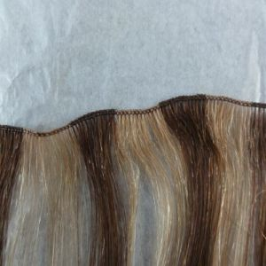 Last More Than 12 Months Hand Tied Hair Weft pictures & photos