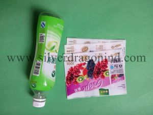 PVC Shrinkable Label for Plastic Bottles pictures & photos