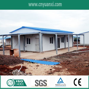 Prefabricated House with Rainshelter and Car Park
