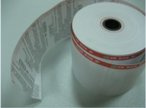 Cash Register Thermal Paper Rolls Used for Supermarket pictures & photos