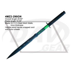 "27.5""Black Machete with Black Nylon Fiber Handle: 4mr5-275 pictures & photos"