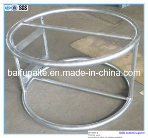 High Quality Galvanized Steel Pipe Pump Support pictures & photos