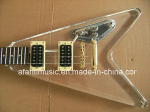 Afanti Music / Acrylic Electric Guitar (AAG-053) pictures & photos