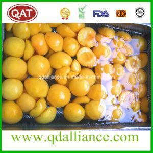 Frozen Fruit IQF Yellow Peach Halves pictures & photos