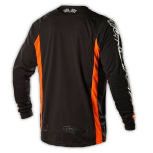 Black Polyester Mesh Fabric Custom Motocross Sublimated Jersey (MAT35) pictures & photos