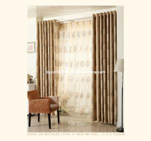 Hot Sale Printed Blackout Grommet Panel/Curtain (SZSMEBP036)