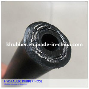 Steel Braided Reinforced Hydraulic Rubber Hose pictures & photos