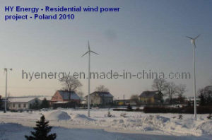 6000w Wind and Solar Hybrid Power System for Home (HYEWH-U)