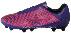 Soccer Football Boots with TPU Outsole Men′s Shoes (815-3639) pictures & photos