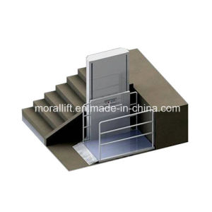 Low Cost 4m SJD Hydraulic Disabled Wheelchair Lift pictures & photos