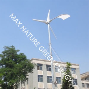 Wind Turbine Generator 5kw with Mounting Poles pictures & photos