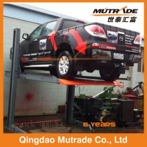Two Post Simple Smart Hydraulic Car Parking Lift pictures & photos