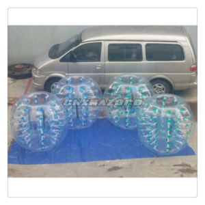 Authentic Quality Color Dots Inflatable Bubble Football From Guangzhou Factory pictures & photos