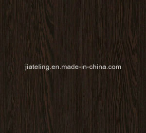 Wenge Wood Color Melamined MDF, Wene Wood MDF pictures & photos