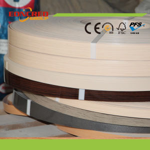 PVC Wood Grain Edge Banding for Cabinet and Furniture pictures & photos
