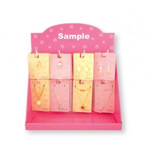 Printed Paper Hang Display Shelf for Necklaces pictures & photos