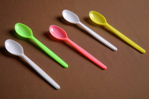 FDA Standard PP Plastic Soup Spoon pictures & photos