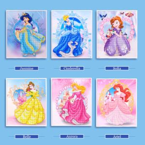 Factory Direct Wholesale Children DIY Crystal Oil Painting Kids Toy K-058 pictures & photos