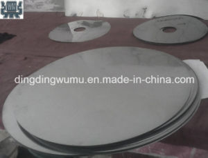 Pure Molybdenum Round Cover Plate Disc for Sapphire Crystal Growth Furnace pictures & photos