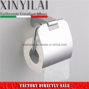 High Quality Alloy Material Toilet Paper Holder with Cover pictures & photos