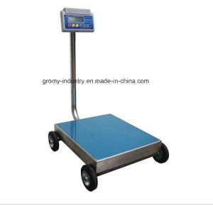 Electronic Digital Portable Platform Bench Scale with Wheels Ec-P pictures & photos