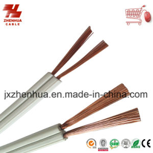 Flat 2core Parallel Cable 18AWG 16AWG 14AWG 300V pictures & photos