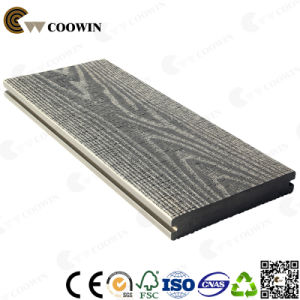 2017 New 3D Embossed Outdoor Coffee Composite Decking pictures & photos