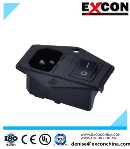 AC Socket Power Socket S-03f-11s Rocker Switch Socket