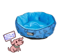 Comfortable Pet Bed with Antimicrobial Fabric Material pictures & photos