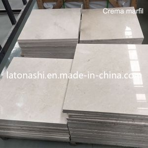 Light Crema Marfil Tile for Walling, Flooring, Vanity pictures & photos