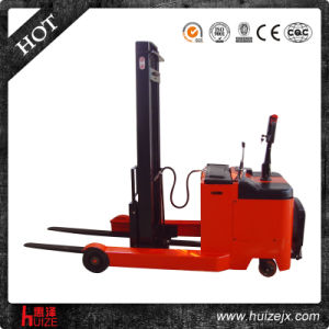 CE Certificated Electric Reach Stacker (Model No. HZCQD1030-04)