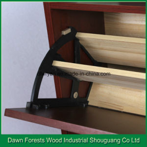 Simple Wooden Shoe Cabinet pictures & photos