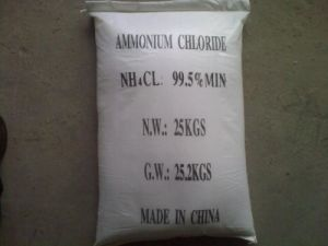 Ammonium Chloride, Ammonium Chloride Technical Grade 99.5% pictures & photos