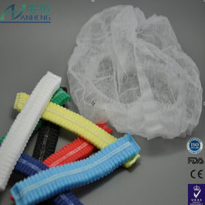China Wholesale Double Stitched Disposable Mob Caps pictures & photos