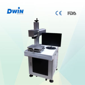 20W Mini Desktop Fiber Laser Marking Machine for Metal pictures & photos