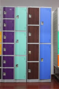 ABS Engineering Plastic Locker China Manufacture pictures & photos