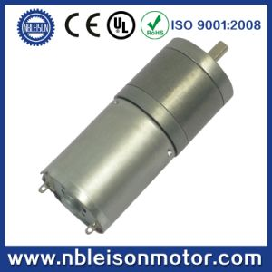 CE RoHS 25mm 12V Low Rpm DC Gear Motor pictures & photos