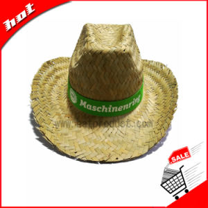 Promotional Straw Hat Natural Mat Grass Straw Hat pictures & photos