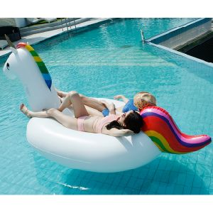 New Inflatable Floating Pineapple Popsicle Golden Swan Unicorn Pool Floats pictures & photos