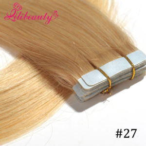 100% Remy Hair, Best Price Tape Hair Extension pictures & photos