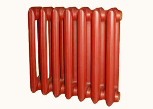 590X140X80mm Cast Iron Red Heating Radiator pictures & photos