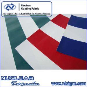 Striped Anti-UV PVC Tarpaulin
