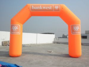 Inflatable Arch with Sponsor′s Logo Printings (K4017) pictures & photos