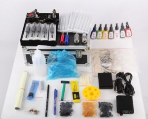 Professional &Complete Tattoo Kit with High Quality Tattoo Machine Tattoo Ink pictures & photos