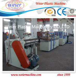 WPC Ecological Profile Production Line Sj-75/25 Single Screw Extrusion pictures & photos