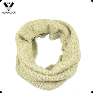 Wholesale High Quality Winter Knitted Womens Neck Scarf pictures & photos