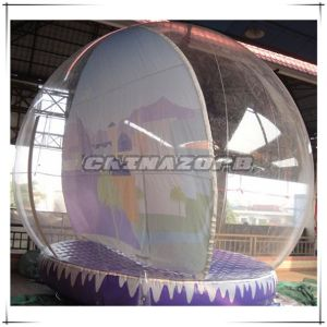 High Quality Inflatable Snowglobe with Full Painted Backdrop pictures & photos